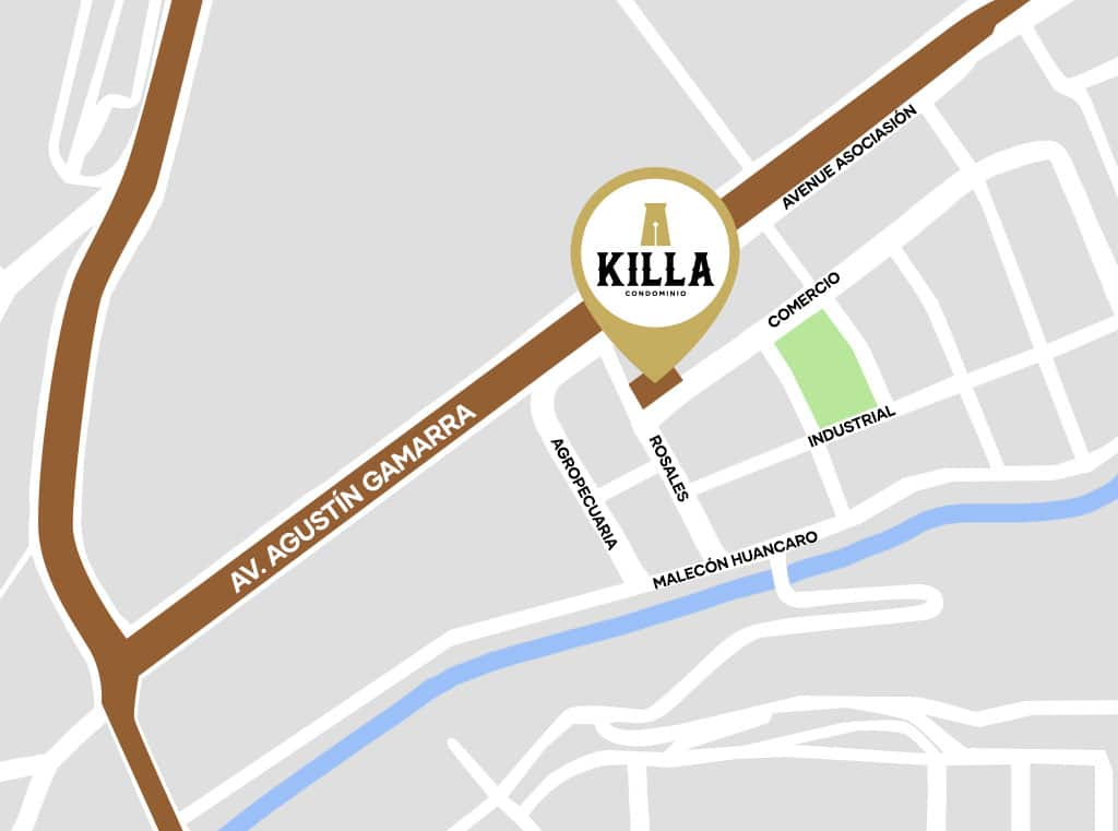 Proyecto Condominio Killa Ubicacion Maps en Cuzco